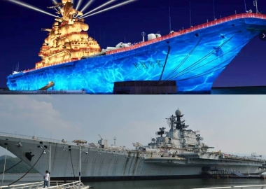 Minsk and Kiev aircraft carriers