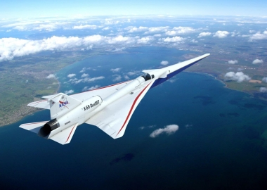No paper plane: NASA supersonic X-59 QueSST is coming together