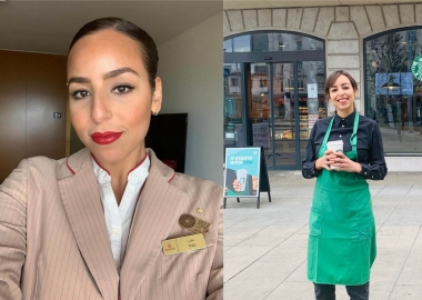 Naila's journey: from Emirates flight attendant to Starbucks bari