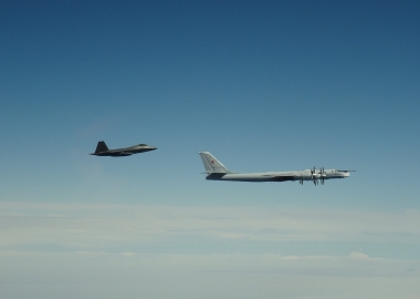 NORAD F-22 jets intercept two Russian bomber groups near Alaska