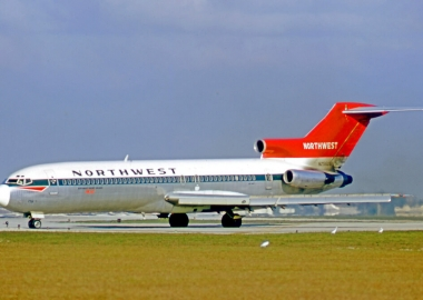 northwest airlines boeing 727 at miami international airport db cooper story