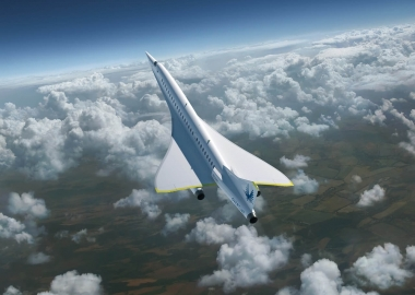 Supersonic flight meets another challenge besides noise reduction