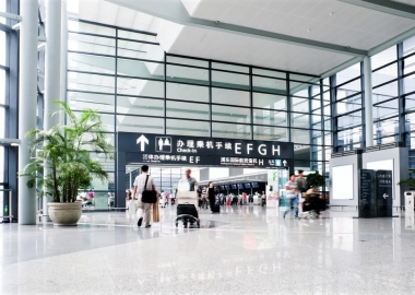 Pudong International Airport, Shanghai, China