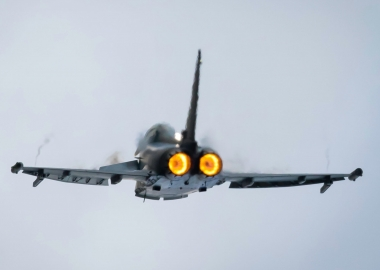 London and Cambridge startled by RAF Typhoon's sonic boom