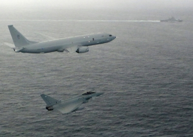 RAF P-8 Poseidon monitors Russian warship for maiden mission