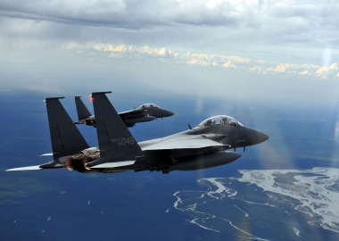 South Korean F-15K jets fly over islands disputed by Japan