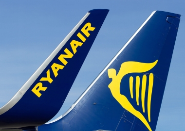 Ryanair Boeing 737-800 NextGeneration winglet and tailfin