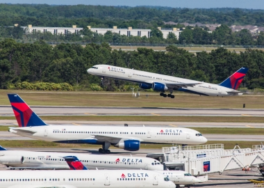 Delta Airlines Boeing 757 aircraft taking off aerotime news