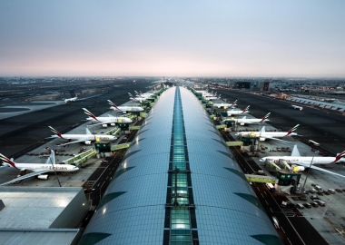 Dubai International Airport aerial view aerotime aviation news