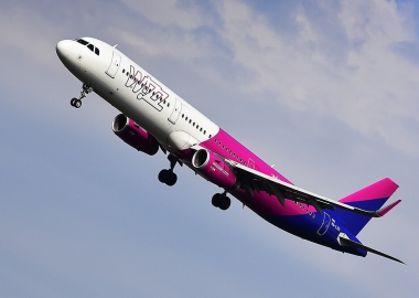 Wizz Air Airbus A321 aircraft