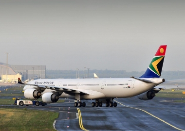 What happened to South African Airways planes?