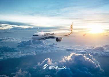 Starlux Airlines Airbus A320neo in flight aerotime news