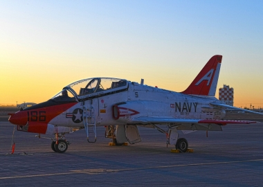 US Navy T-45 Goshawk training jets collide mid-air in Texas