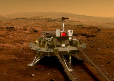 China's Mars rover is set to land on the Red Planet