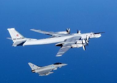 Russian spy planes patrol alarm four different air forces