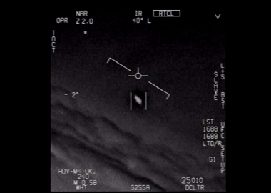 "Pentagon authenticates leaked ""UFO"" footage from US Navy"