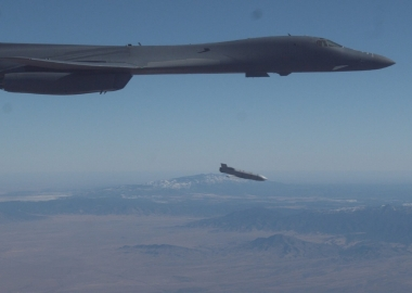 B-1B test-launches cruise missile externally ahead of hypersonic weapons