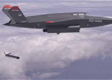 Droneception: XQ-58A Valkyrie launches drone from weapons bay