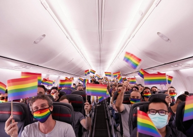 Virgin Australia holds its first Pride Flight