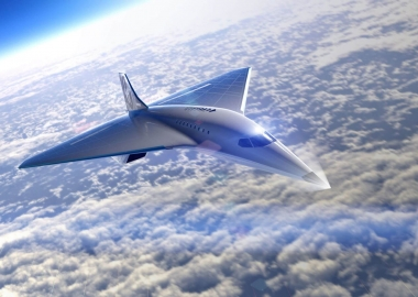 Virgin Galactic supersonic jet