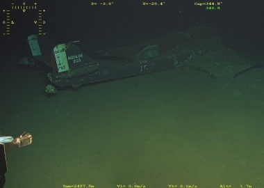 Divers find missing wreck of SE.203 Aquilon fighter jet