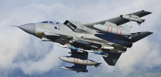 Last farewell flyover marks end of RAF Tornado career