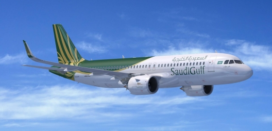 SaudiGulf orders 10 Airbus A320neo family aircraft
