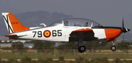Spanish Air Force instructor and student die in training incident
