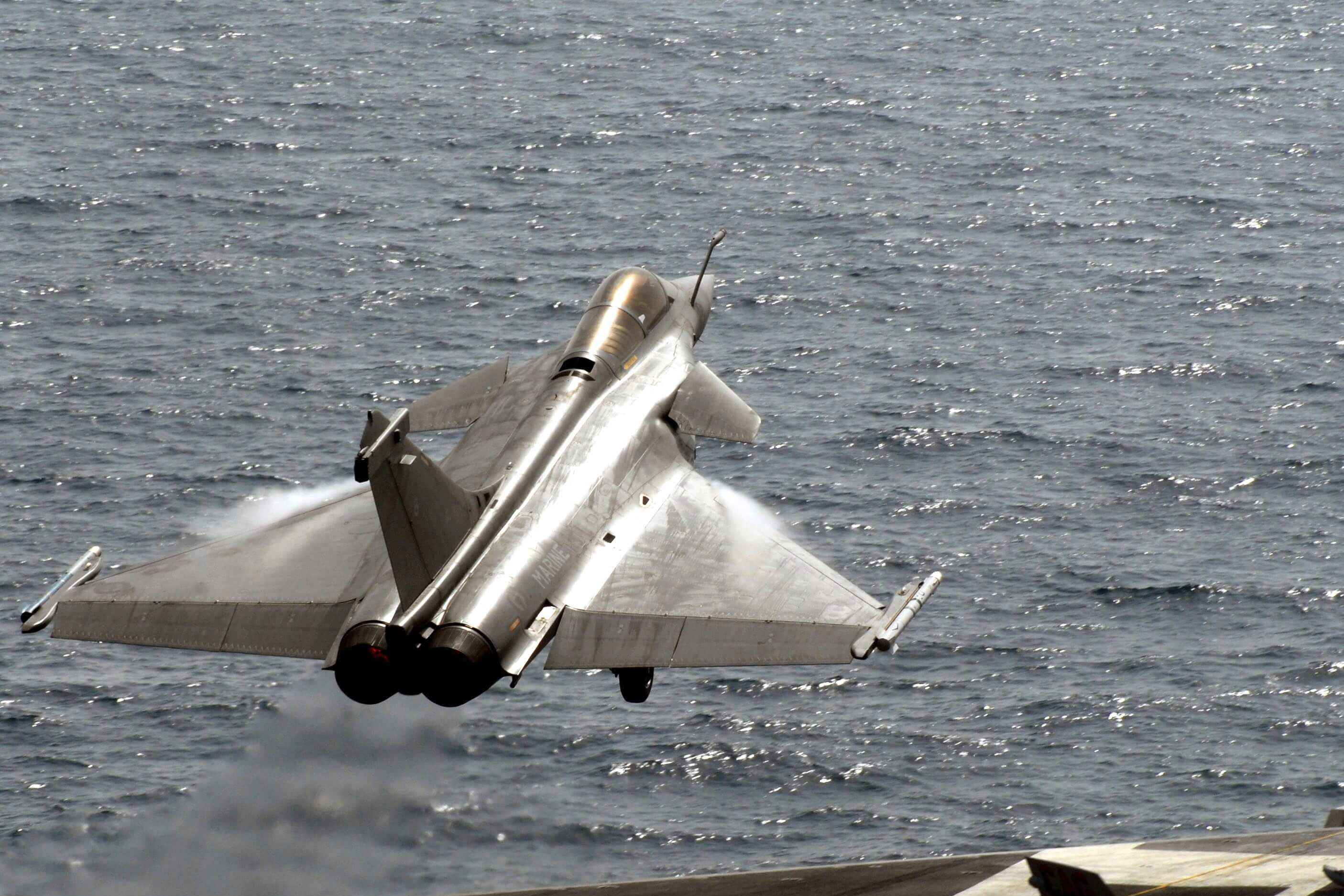 Rafale fighter to attempt ski-jump off India's carrier ramp