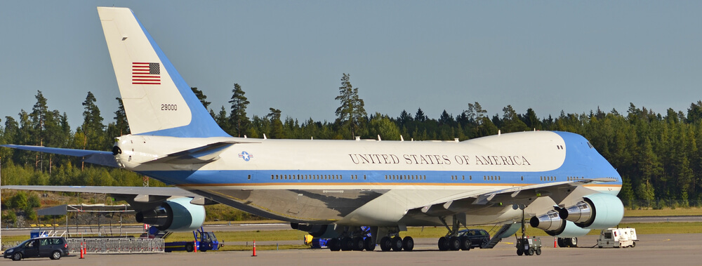 COPY OF AIR FORCE ONE RECONDITIONED