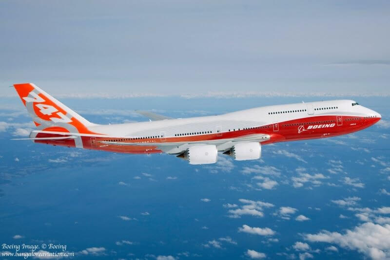 boeing 747 8 largest passenger aircraft