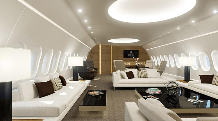 boeing 747 8-vip most expensive aircraft