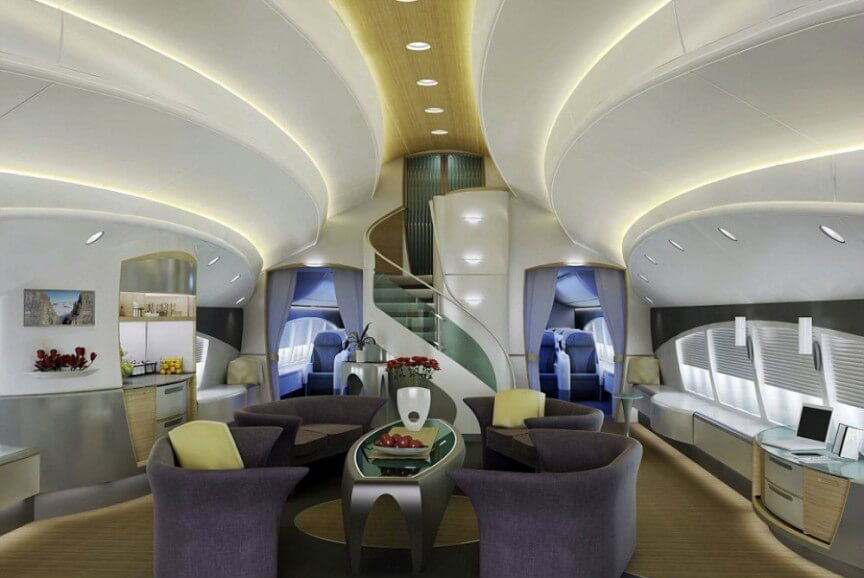 boeing 747 8-vip most expensive plane