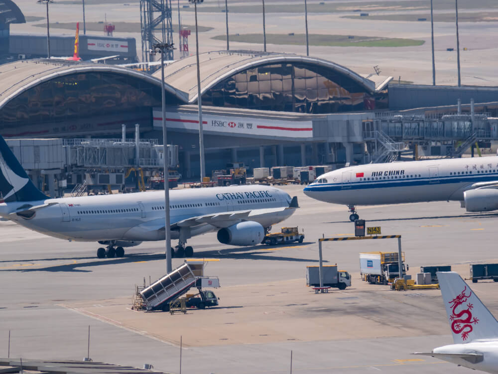 China targets Cathay Pacific as Hong Kong Airport cancels flights