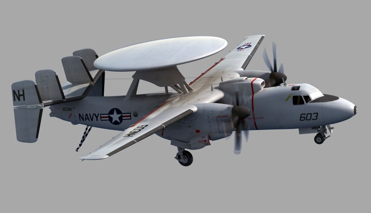 e 2d advanced hawkeye most expensive plane in the world