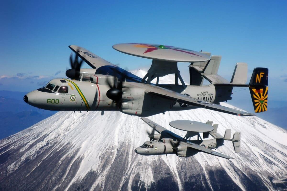 e 2d advanced hawkeye most expensive plane