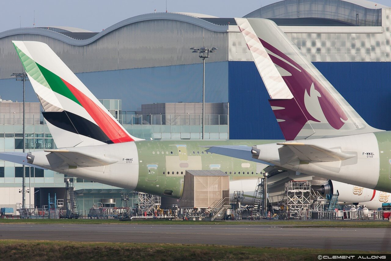 Middle Eastern rivalry: Qatar Airways and Emirates endless dance