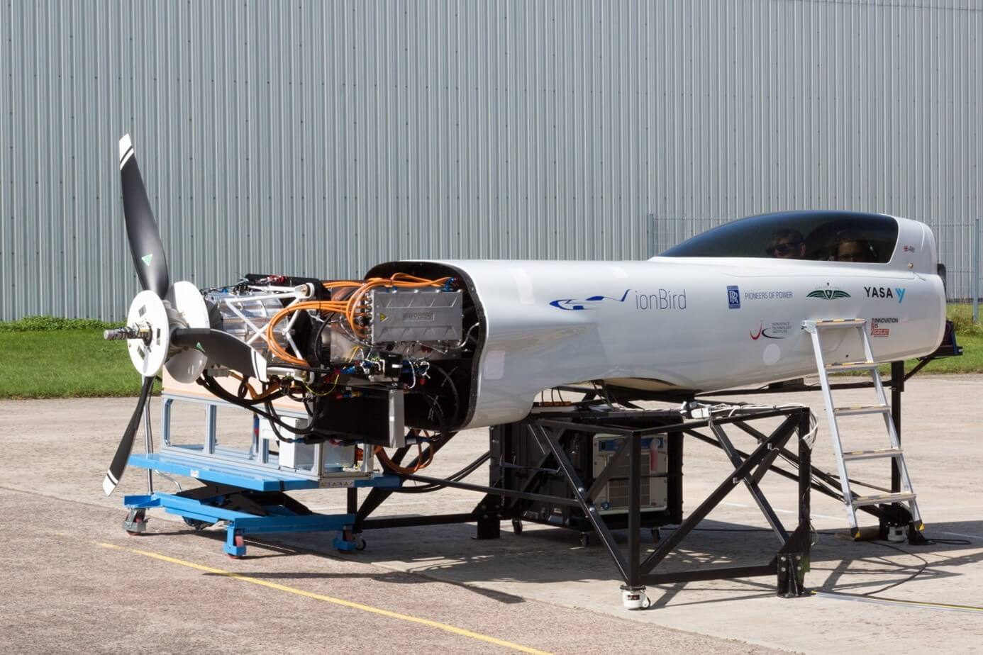 Rolls-Royce completes world's fastest all-electric plane testing
