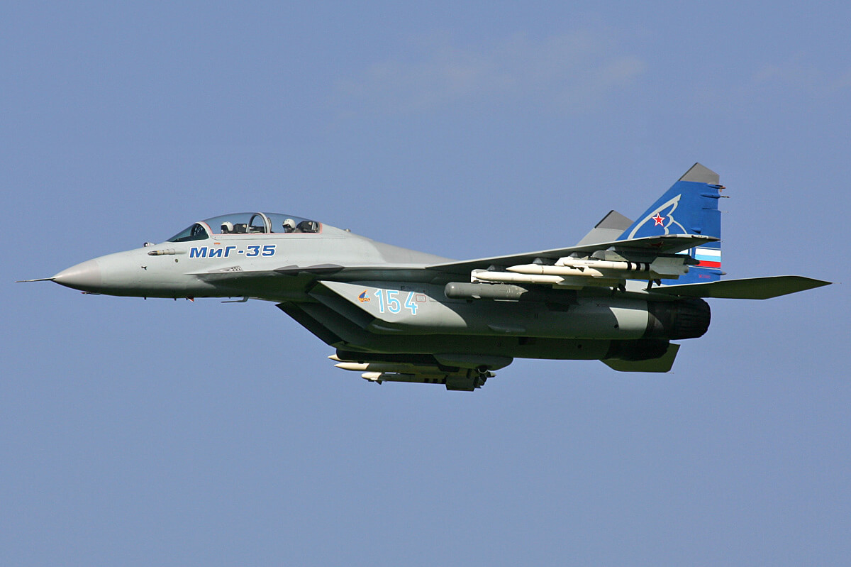 Russia to unveil 4th-generation MiG-35 fighter jet in January