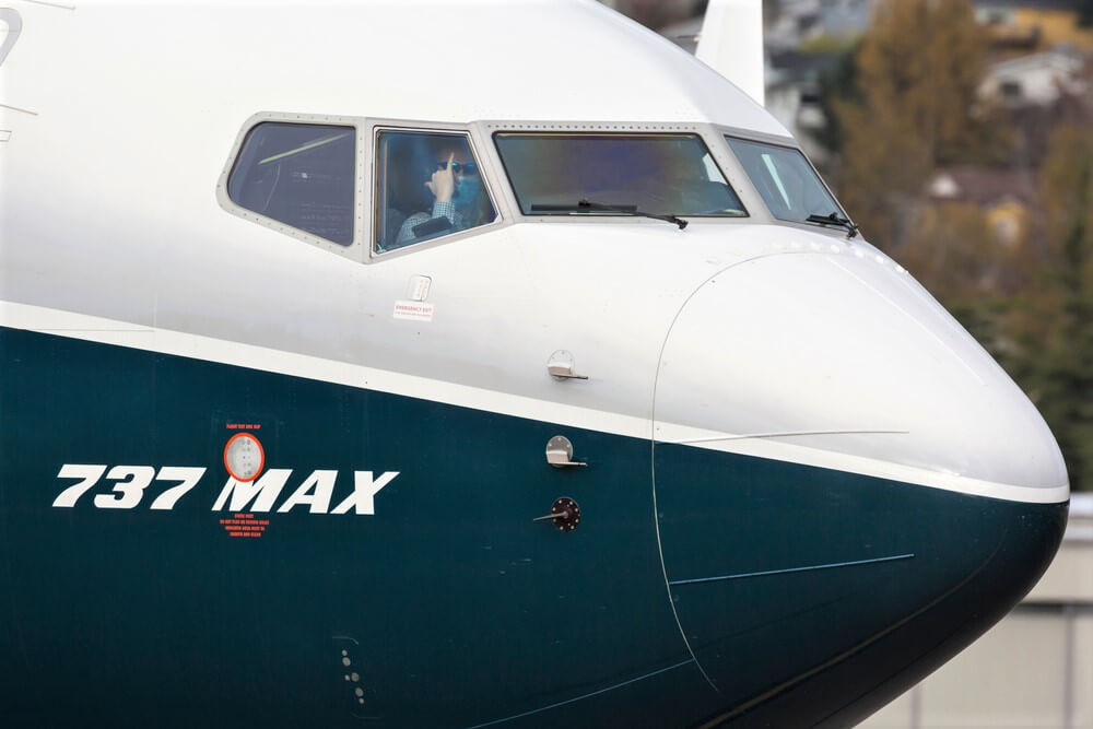Blue Air gets the first of 10 Boeing 737 MAX jets
